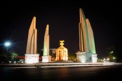 μνημείο Ταϊλάνδη δημοκρατίας της Μπανγκόκ Στοκ εικόνες με δικαίωμα ελεύθερης χρήσης
