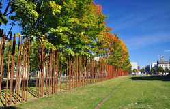 Μνημείο τειχών του Βερολίνου. Γερμανία στοκ εικόνα