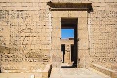 Μνημείο της Αιγύπτου της αρχιτεκτονικής Στοκ Εικόνες