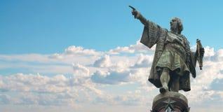 Μνημείο της Βαρκελώνης Christopher Columbus Στοκ φωτογραφίες με δικαίωμα ελεύθερης χρήσης