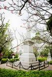 Μνημείο της βασίλισσας Sunanta, βασιλιάς Rama Β βασιλικός σύζυγος ` s, και thei στοκ φωτογραφία