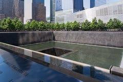 Μνημείο της 11ης Σεπτεμβρίου στη Νέα Υόρκη Στοκ φωτογραφία με δικαίωμα ελεύθερης χρήσης