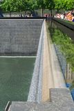 Μνημείο της 11ης Σεπτεμβρίου στη Νέα Υόρκη Στοκ Φωτογραφίες