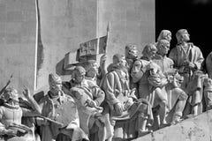 Μνημείο της Λισσαβώνας στις ανακαλύψεις στοκ φωτογραφίες