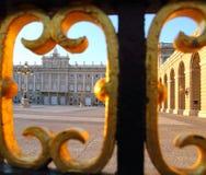 Μνημείο της Μαδρίτης Palacio de Oriente Στοκ Εικόνες