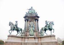 Μνημείο της Μαρίας Theresa Στοκ φωτογραφίες με δικαίωμα ελεύθερης χρήσης