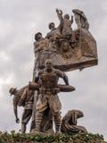 Μνημείο της νίκης σε Echeban Στοκ Φωτογραφία