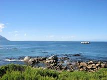 Μνημείο της Νότιας Αφρικής στο νερό Στοκ Εικόνα