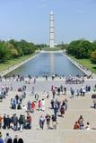 Μνημείο της Ουάσιγκτον, Ουάσιγκτον Δ Γ Στοκ Εικόνα