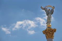 Μνημείο της Ουκρανίας, Κίεβο, Ουκρανία Στοκ Εικόνα