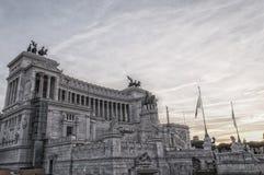 Μνημείο της Ρώμης σε Vittorio Emanuele ΙΙ 01 Στοκ Εικόνες