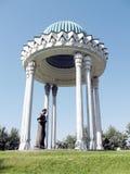 Μνημείο 2007 της Τασκένδης Almazar Navoi στοκ εικόνα με δικαίωμα ελεύθερης χρήσης