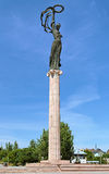 Μνημείο της δόξας σε Kherson, Ουκρανία Στοκ φωτογραφίες με δικαίωμα ελεύθερης χρήσης