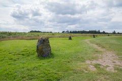 Μνημείο τομέων μάχης Culloden, Iνβερνές, Σκωτία στοκ φωτογραφίες