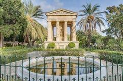 Μνημείο του Αλεξάνδρου John Ball σε Valletta, Μάλτα Στοκ φωτογραφία με δικαίωμα ελεύθερης χρήσης