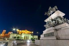 Μνημείο του απελευθερωτή τσάρων, εθνικός καθεδρικός ναός συνελεύσεων και του Αλεξάνδρου Nevsky στην πόλη της Sofia Στοκ Εικόνες