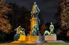 Μνημείο του Βίσμαρκ Στοκ Φωτογραφίες