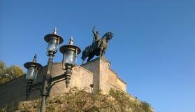 Μνημείο του βασιλιά Vakhtang Gorgasali Στοκ Εικόνα