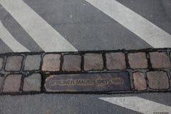 Μνημείο του Βερολίνου Mauer Στοκ Εικόνες