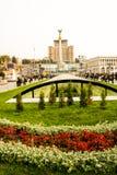 μνημείο του Κίεβου ανεξ&al Στοκ Εικόνες