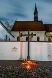 Μνημείο του Κατίν, Κρακοβία Στοκ φωτογραφίες με δικαίωμα ελεύθερης χρήσης