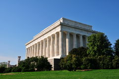 μνημείο του Λίνκολν στοκ εικόνα
