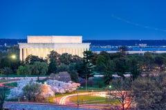 Μνημείο του Λίνκολν Στοκ Φωτογραφίες