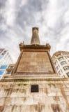 μνημείο του Λονδίνου Στοκ Εικόνες