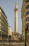 Μνημείο του Λονδίνου Στοκ εικόνα με δικαίωμα ελεύθερης χρήσης