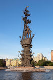 Μνημείο του Μέγας Πέτρος Στοκ εικόνα με δικαίωμα ελεύθερης χρήσης