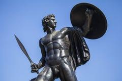 Μνημείο του Ουέλλινγκτον στο Χάιντ Παρκ Στοκ φωτογραφία με δικαίωμα ελεύθερης χρήσης