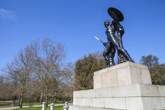 Μνημείο του Ουέλλινγκτον στο Χάιντ Παρκ Στοκ Εικόνες
