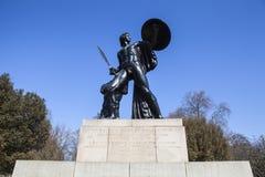 Μνημείο του Ουέλλινγκτον στο Χάιντ Παρκ Στοκ Φωτογραφία
