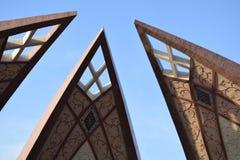 Μνημείο του Πακιστάν Στοκ φωτογραφίες με δικαίωμα ελεύθερης χρήσης