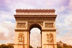 Μνημείο του Παρισιού Στοκ φωτογραφία με δικαίωμα ελεύθερης χρήσης