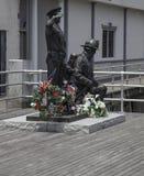 11 μνημείο του Σεπτεμβρίου Στοκ Φωτογραφία