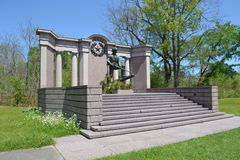 Μνημείο του Τέξας σε Vicksburg Στοκ εικόνες με δικαίωμα ελεύθερης χρήσης