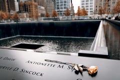 Μνημείο του 9-11-2001 Στοκ εικόνες με δικαίωμα ελεύθερης χρήσης