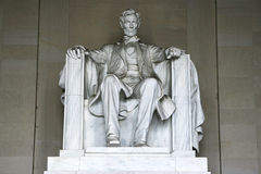 μνημείο του Abraham Λίνκολν Στοκ φωτογραφία με δικαίωμα ελεύθερης χρήσης
