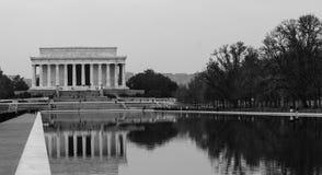 Μνημείο του Abraham Lincoln Στοκ Φωτογραφίες