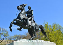 Μνημείο του Andrew Τζάκσον, Washington DC Στοκ Φωτογραφία