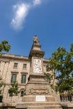 Μνημείο του Antoni Lopez Υ Lopez - Βαρκελώνη Ισπανία Στοκ Φωτογραφίες
