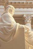 Μνημείο του Benjamin Franklin, ίδρυμα του Franklin, Φιλαδέλφεια, Πενσυλβανία Στοκ Φωτογραφίες