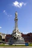 Μνημείο του Columbus. Στοκ φωτογραφίες με δικαίωμα ελεύθερης χρήσης