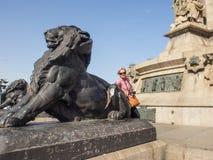 Μνημείο του Columbus Στοκ Εικόνα