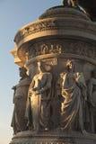 μνημείο του Emanuele στο vittorio στοκ εικόνα