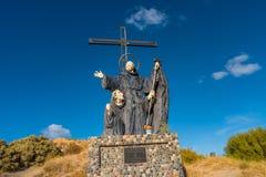 Μνημείο του Francisco de Paola σε Puerto Madryn, Αργεντινή, Pata στοκ φωτογραφία με δικαίωμα ελεύθερης χρήσης