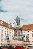 Μνημείο του Franz αυτοκρατόρων στο παλάτι Hofburg στοκ φωτογραφία με δικαίωμα ελεύθερης χρήσης