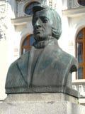 Μνημείο του Frederic Chopin σε Bytom, Σιλεσία-Πολωνία στοκ εικόνες