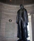Μνημείο του Jefferson Στοκ Εικόνα
